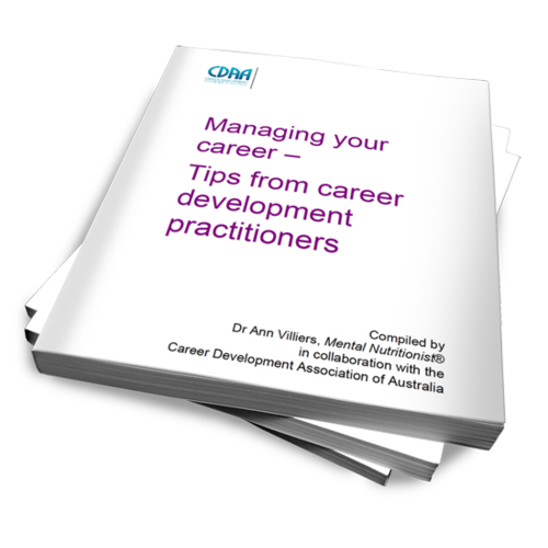 Managing Your Career - Dr Ann Villiers