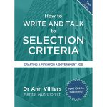How to Write and Talk to Selection Criteria - Dr Ann Villiers